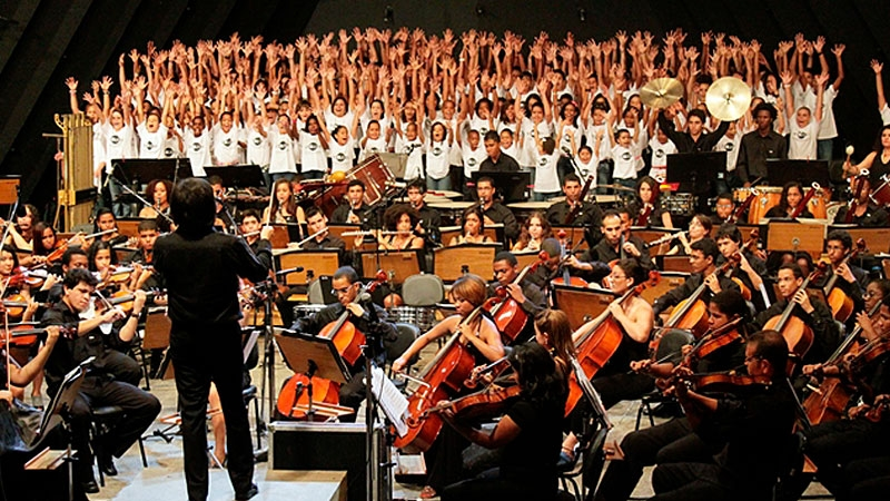 b6d12fb11c Janeiro  Participação da Orquestra Juvenil 2 de Julho no FEMUSC – Festival  de Música de Santa Catarina